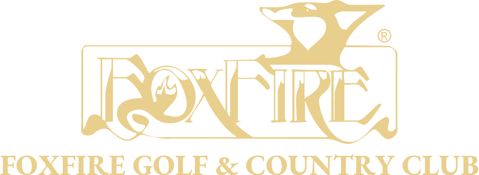Foxfire Golf & Country Club Gold Logo